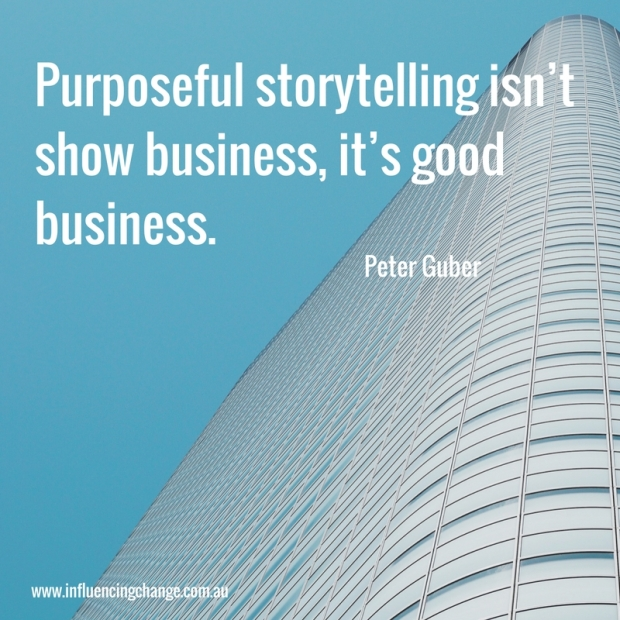storytelling quote peter guber