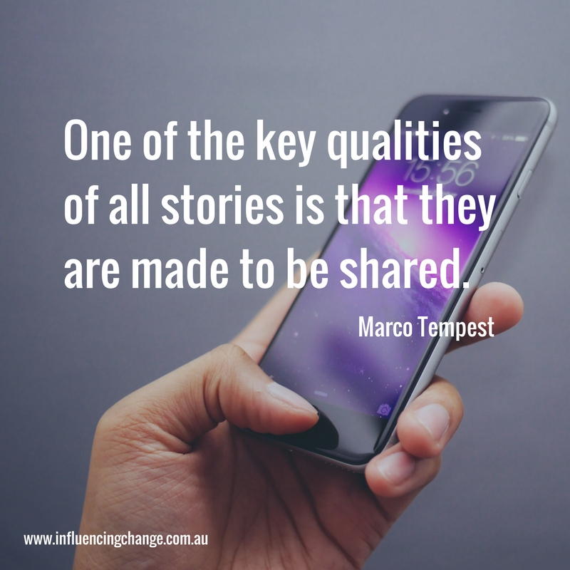 storytelling quote marco tempest