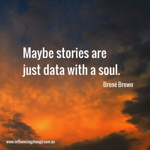 storytelling quote brene brown