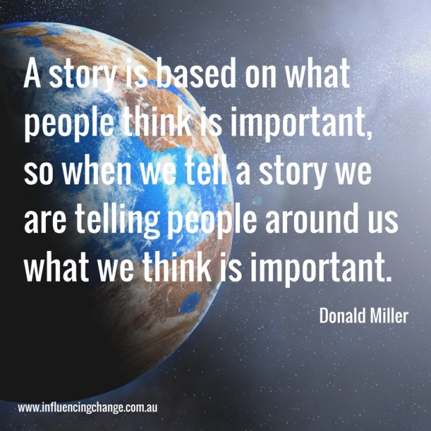 storytelling quote donald miller