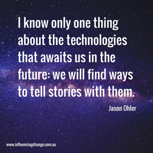 storytelling quote jason ohler