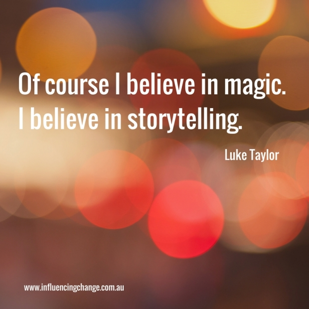 Storytelling quote magic