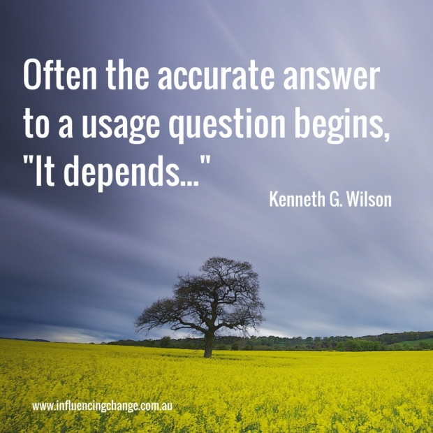 question quote kenneth G wilson