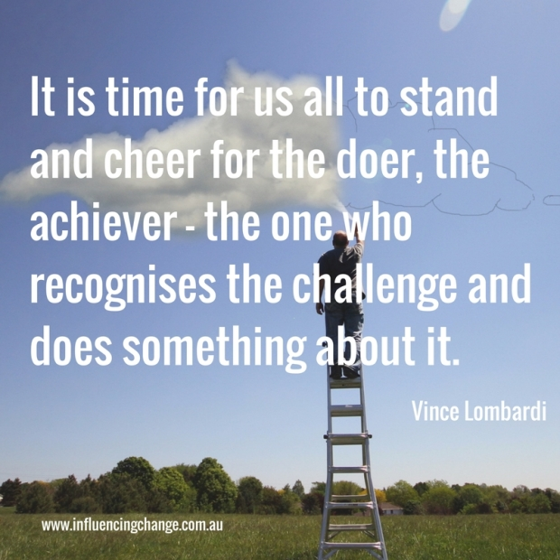 vince lombardi quote the doer