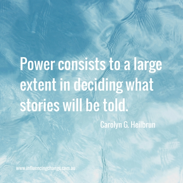 Storytelling quote power