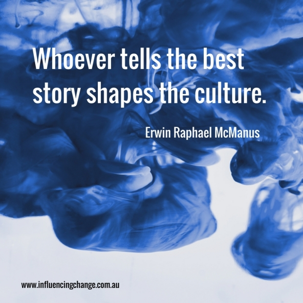 Storytelling quote culture