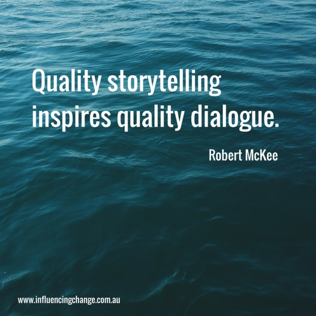 Storytelling quote robert mckee