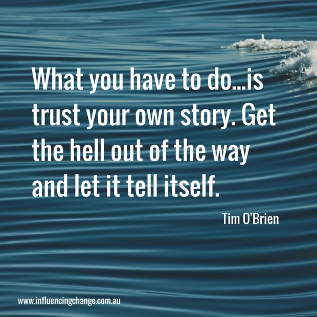 Storytelling quote tell your own story