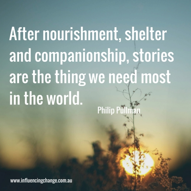 Storytelling quote Philip Pulman