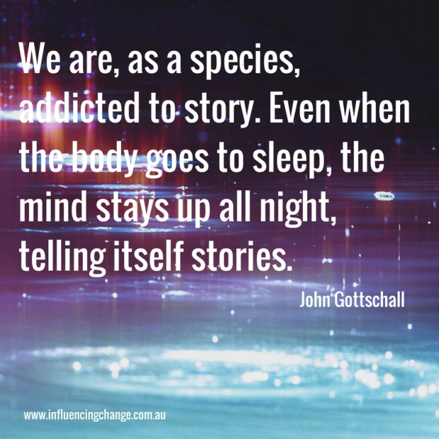 Storytelling quote gottschold
