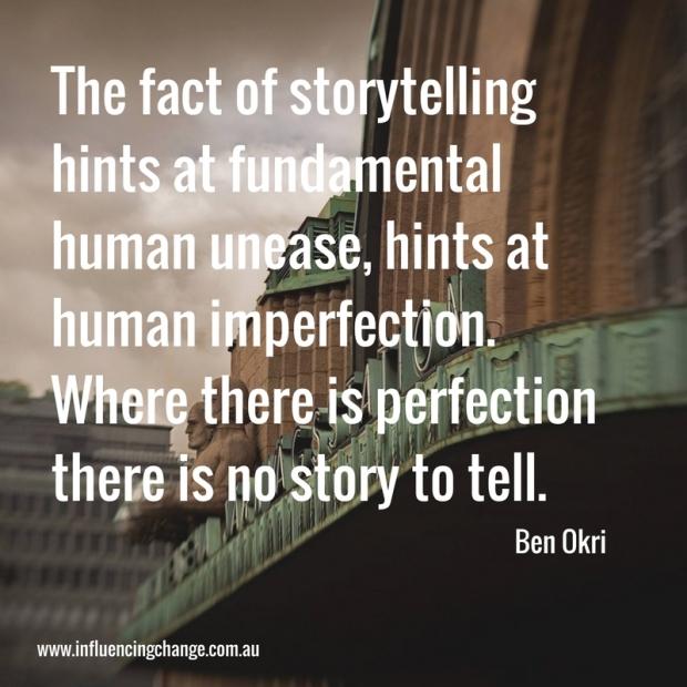 Storytelling quote okri
