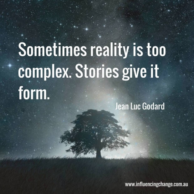 storytelling quote jean luc goddard