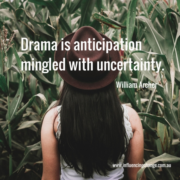william archer quote storytelling drama
