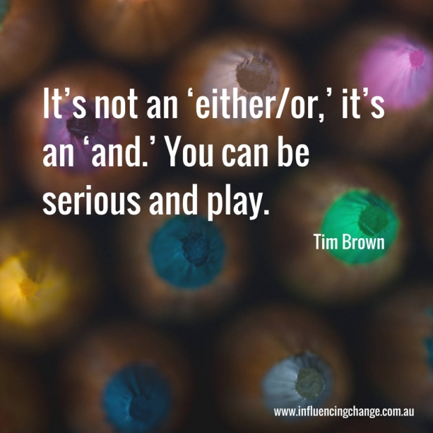 tim brown quote play